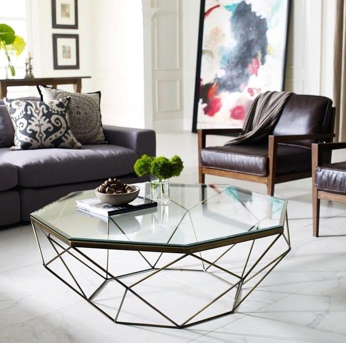 Современный столик в гостиную