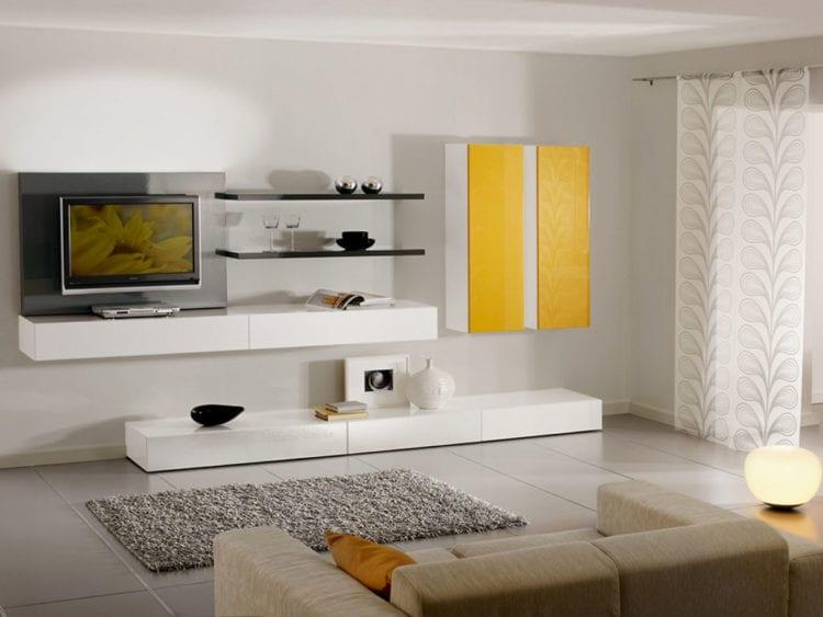 Современные небольшие стенки в зал