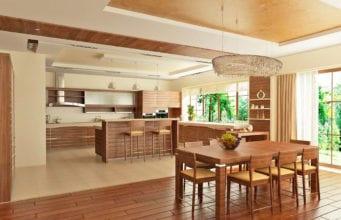 Дизайн кухни, столовой и гостиной: особенности организации и зонирования пространства