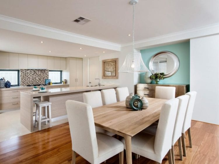 Living Room Dining Room Kitchen