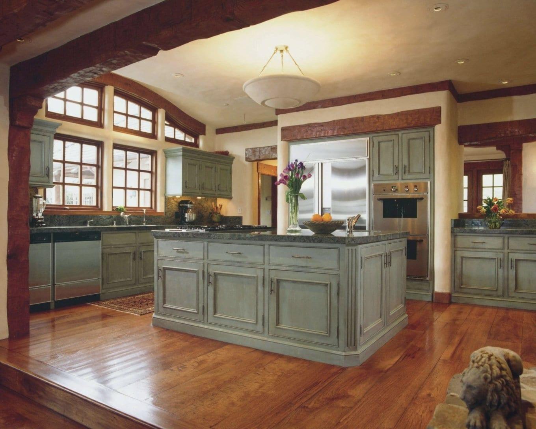 Кухня в английском стиле фото интерьер