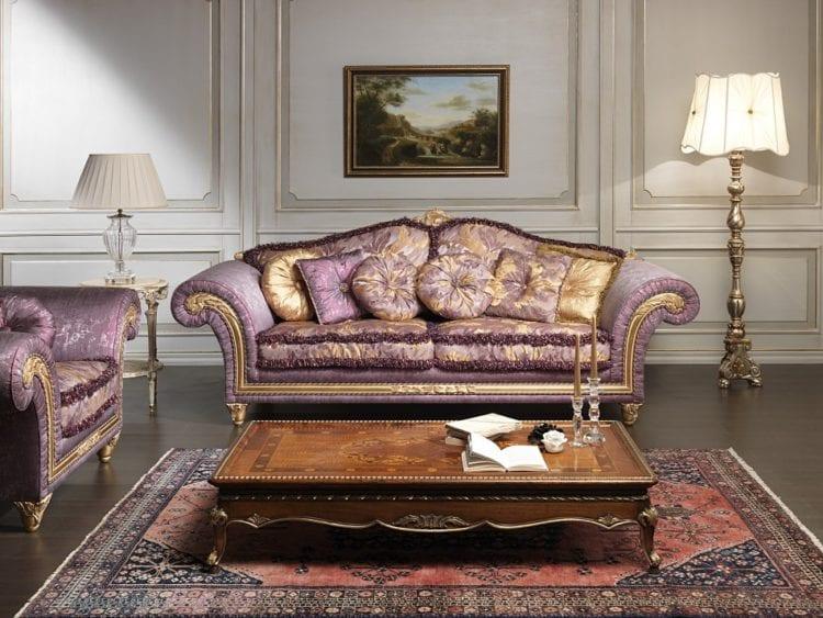 Диваны для гостиной в классическом стиле