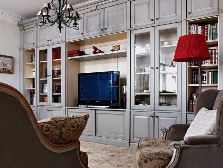 Итальянская мебель для гостиной в классическом стиле