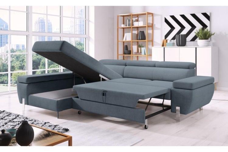 Модульные диваны с раскладной оттоманкой