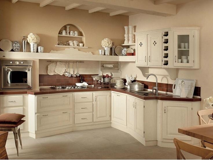 Кухня в Тосканском стиле Кантри