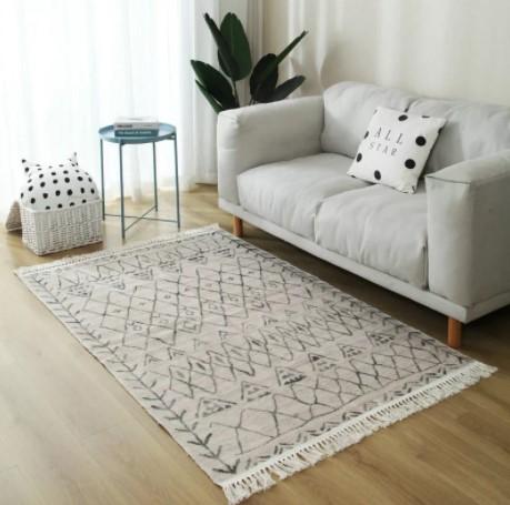 Хлопковые ковры в гостиную