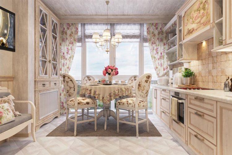 Кухня Прованс беж