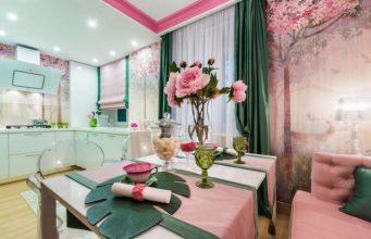 Нюансы дизайна розовой кухни: как сделать интерьер уютным и красивым