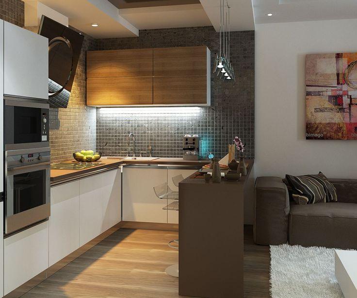 Кухня с гостиной 10кв м интерьер