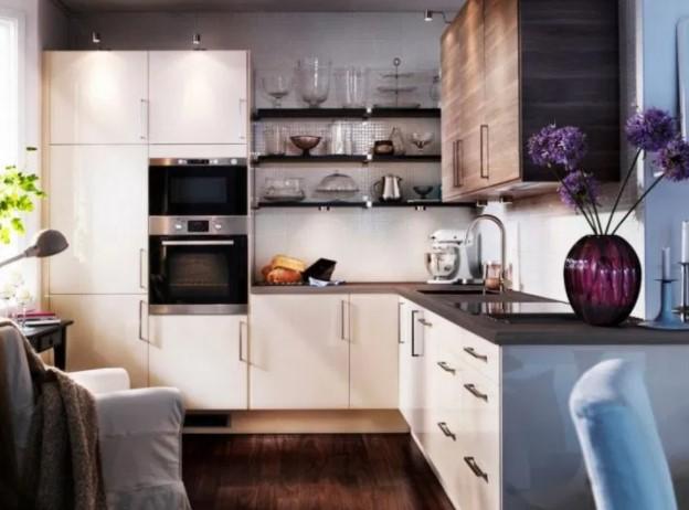 Дизайн гостиной, совмещенной с кухней, на 10 кв. м.