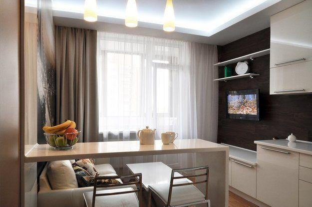 Дизайн гостиной около 10 кв. м в квадратной комнате с диагональной симметрией