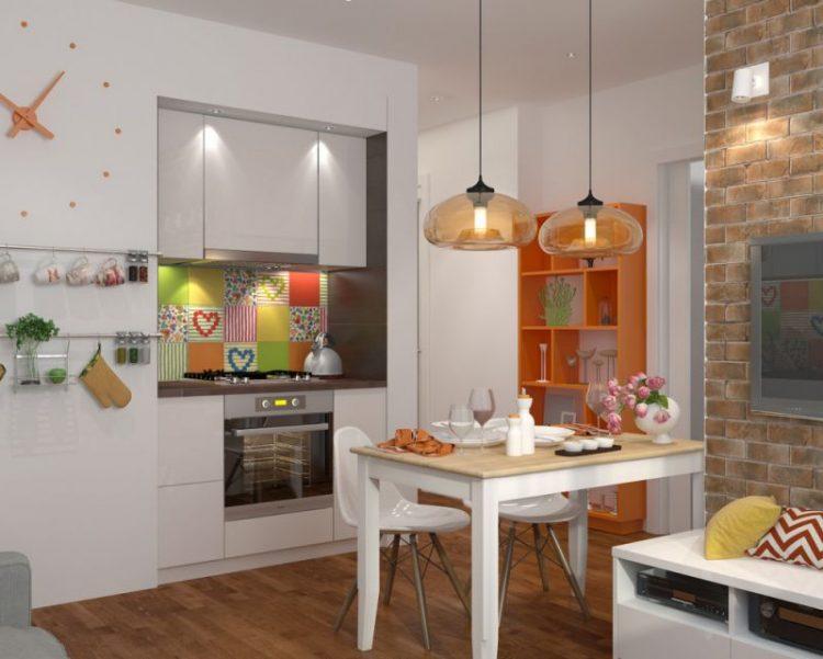 Мини кухни-гостиная на 10 кв.м