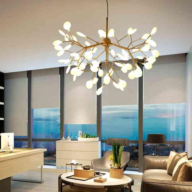 Современные люстры для гостиной