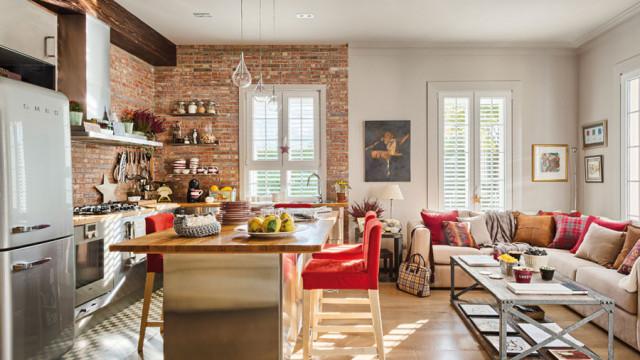 Кухня-гостиная в стиле