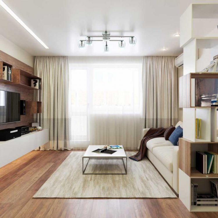 Дизайн зала на 16 кв. м в небольшой квартире